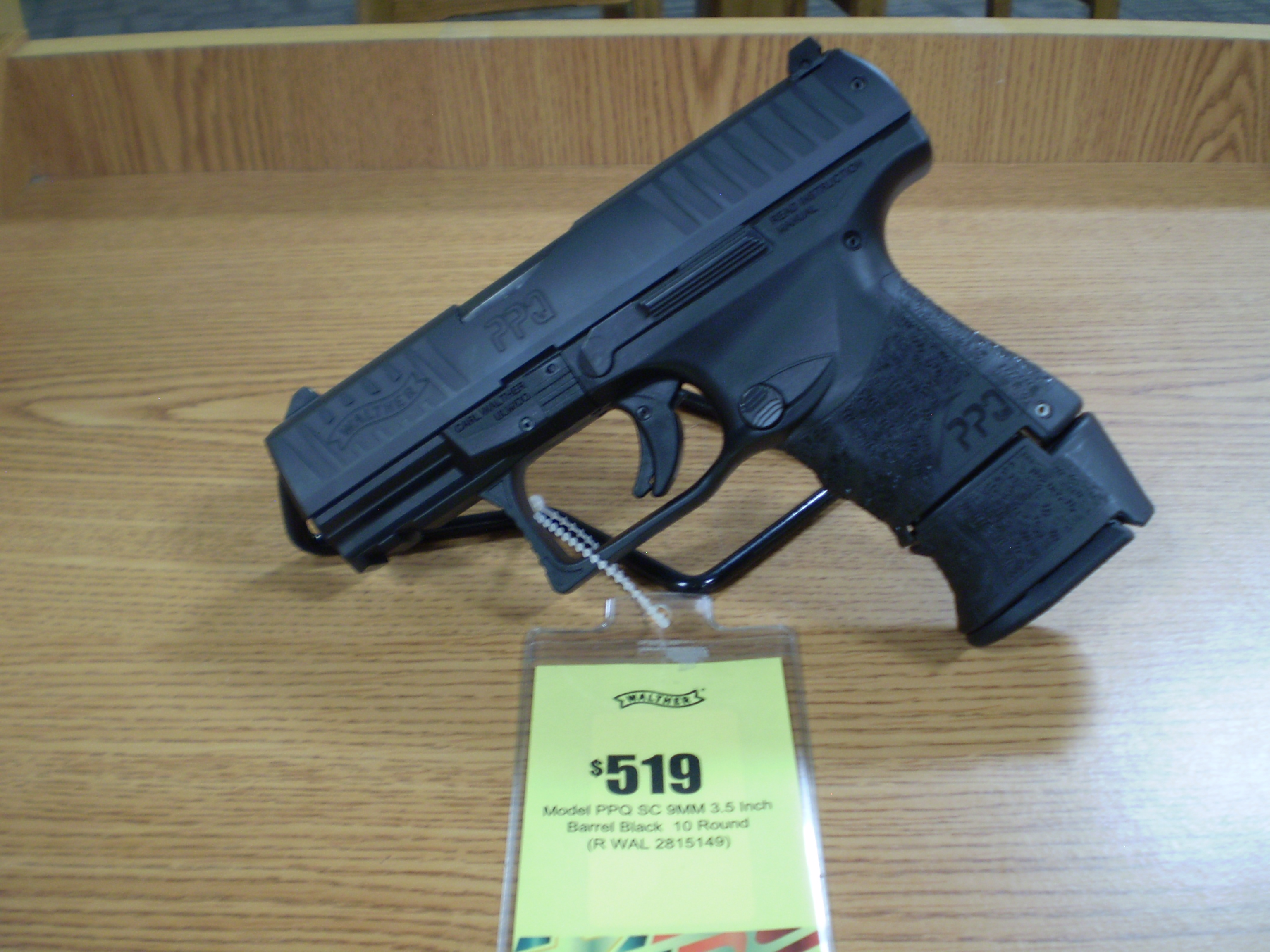 Walther PPQ M2 SC 9mm