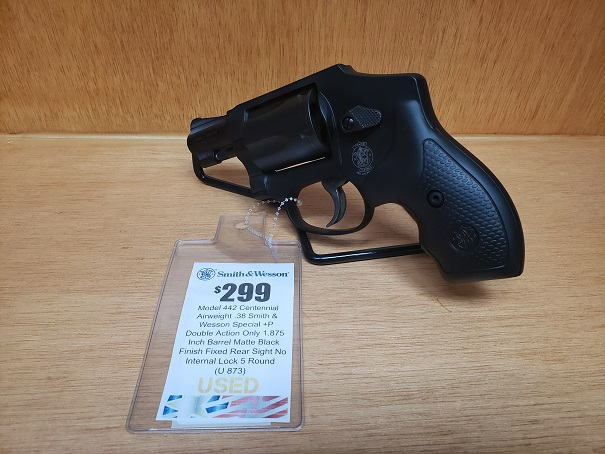 SMITH AND WESSON 442 38SPL+P